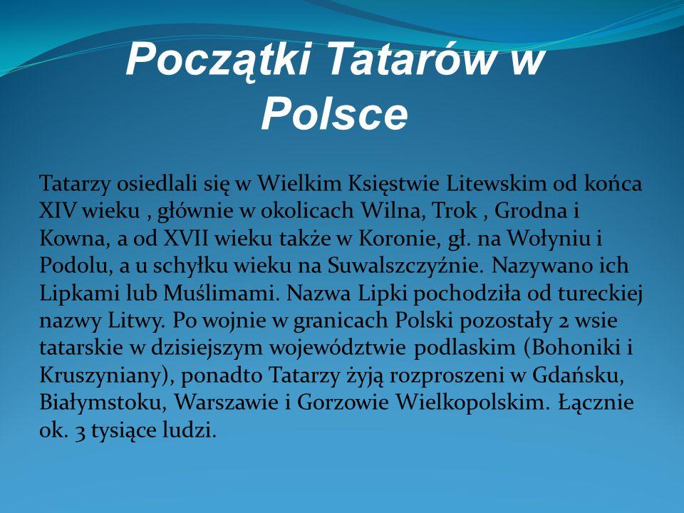 Początki Tatarów w Polsce