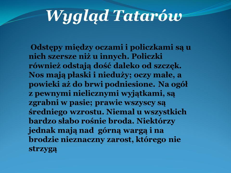Wygląd Tatarów