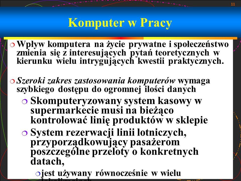 Komputer w Pracy