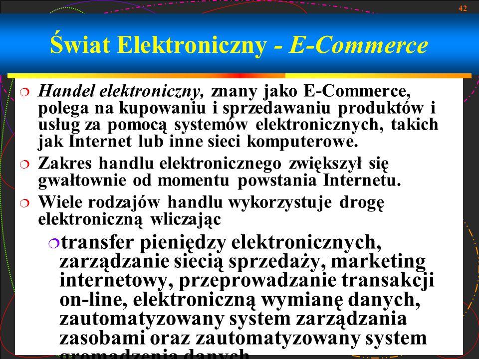 Świat Elektroniczny - E-Commerce