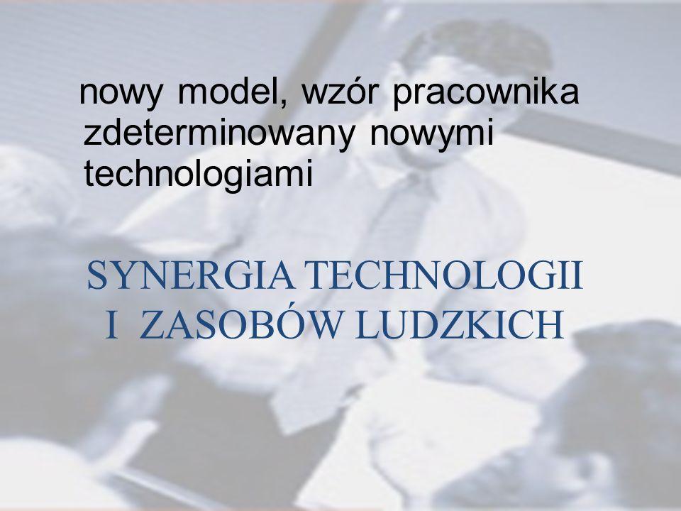 SYNERGIA TECHNOLOGII I ZASOBÓW LUDZKICH