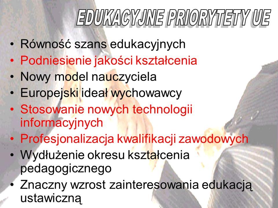 EDUKACYJNE PRIORYTETY UE