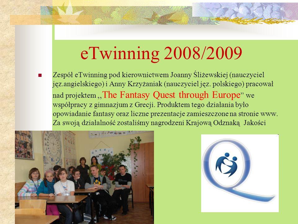 eTwinning 2008/2009