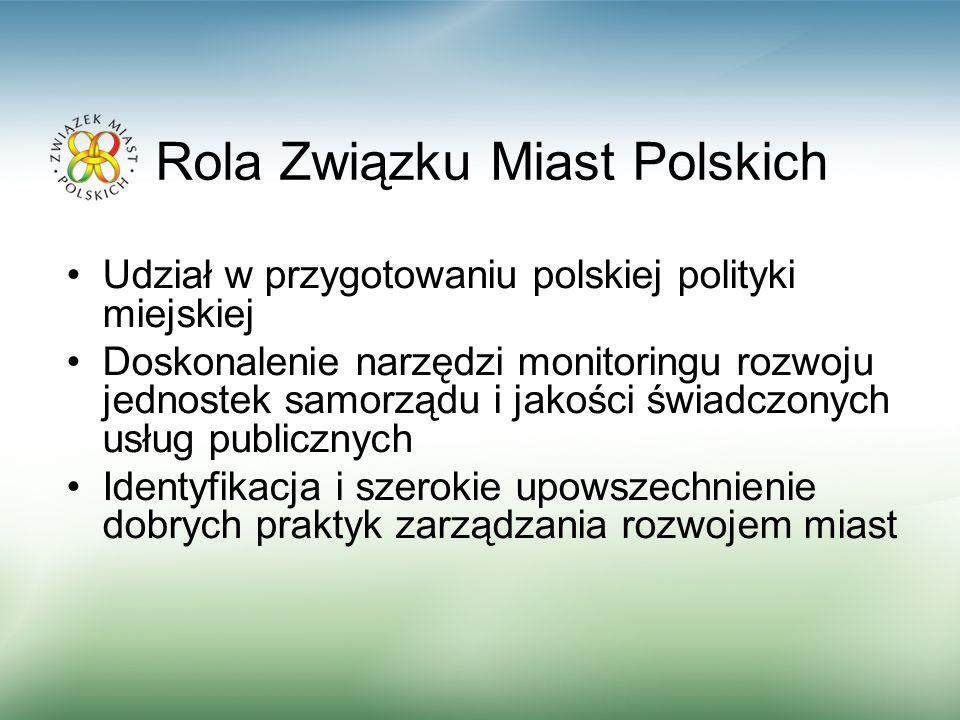 Rola Związku Miast Polskich