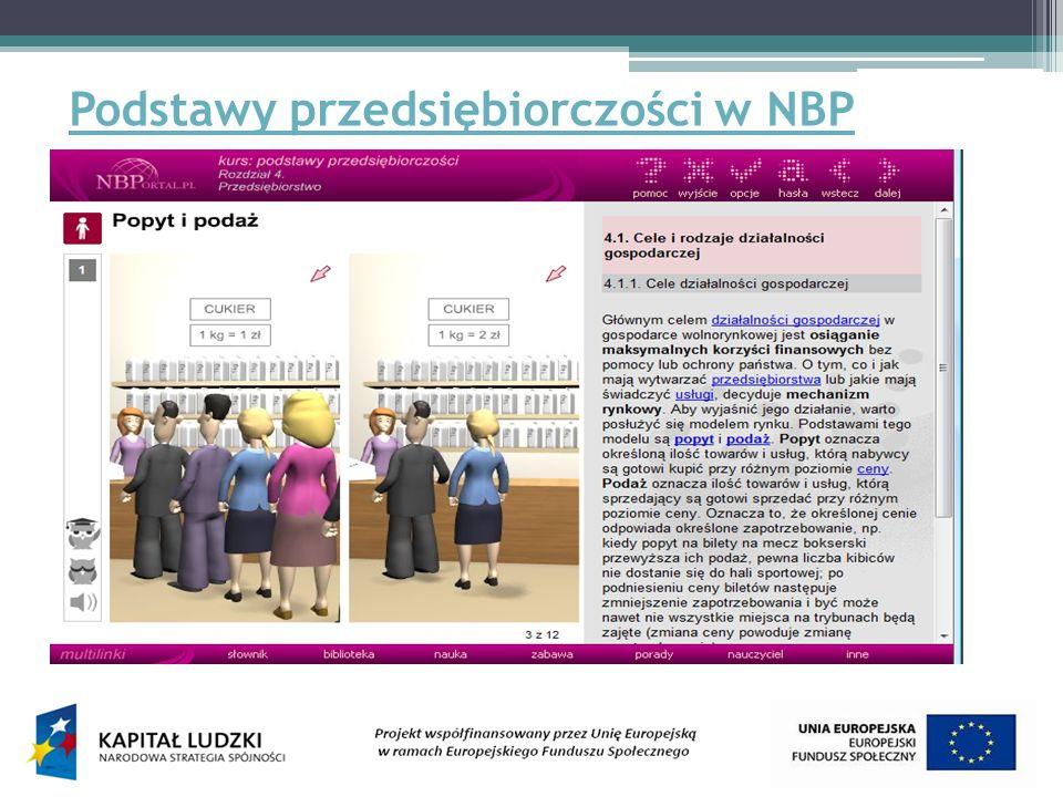Podstawy przedsiębiorczości w NBP