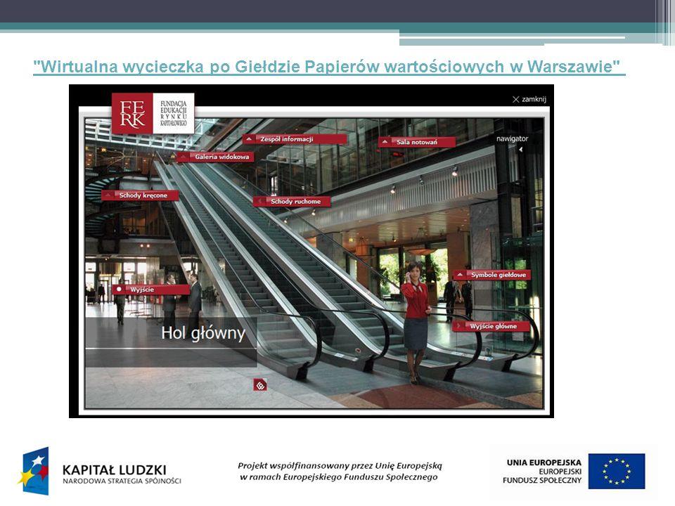 Wirtualna wycieczka po Giełdzie Papierów wartościowych w Warszawie