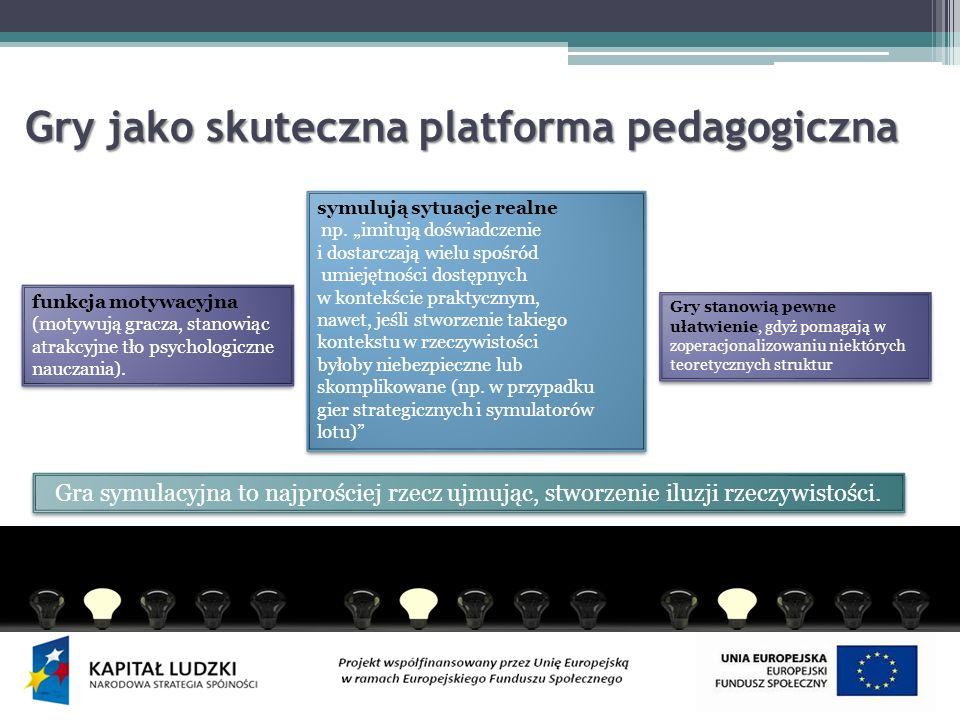 Gry jako skuteczna platforma pedagogiczna
