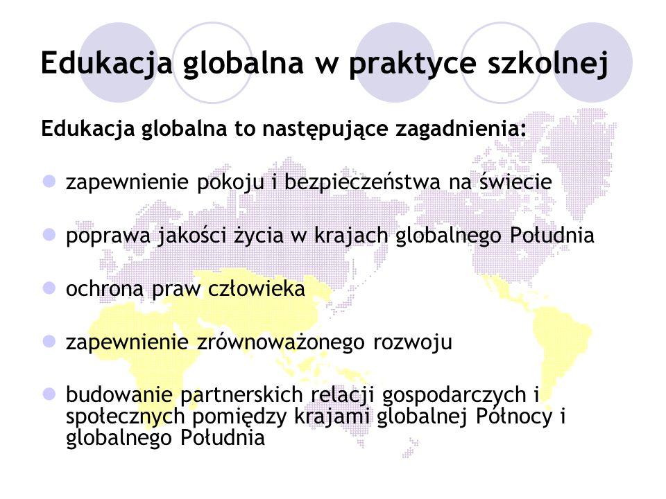 Edukacja globalna w praktyce szkolnej