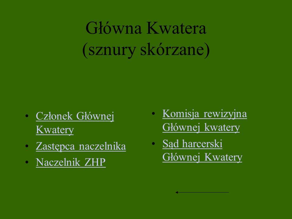 Główna Kwatera (sznury skórzane)