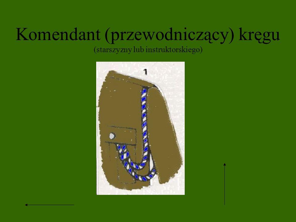 Komendant (przewodniczący) kręgu (starszyzny lub instruktorskiego)