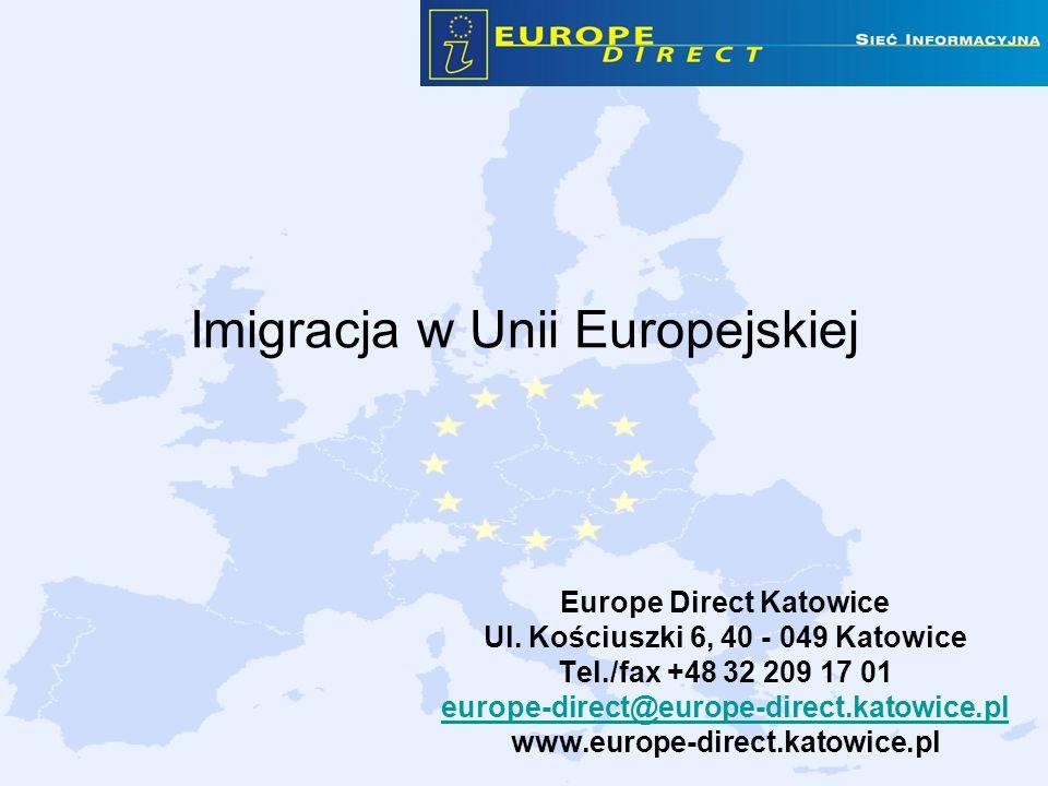 Imigracja w Unii Europejskiej