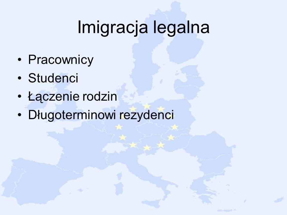 Imigracja legalna Pracownicy Studenci Łączenie rodzin