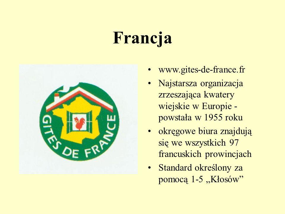 Francja www.gites-de-france.fr