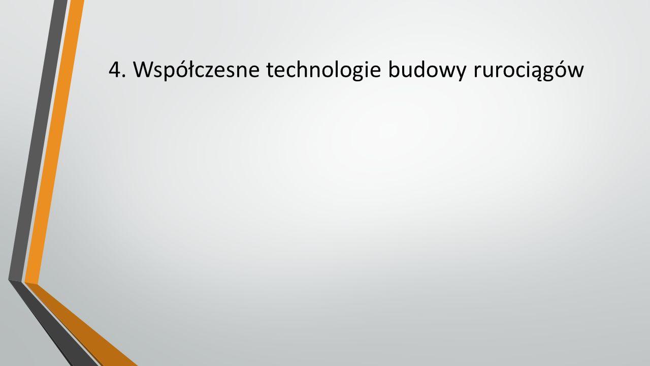 4. Współczesne technologie budowy rurociągów