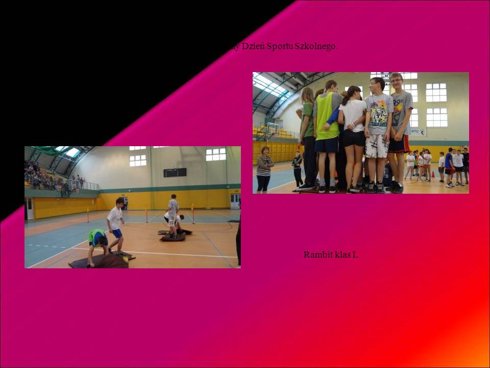 Aktywnie spędzaliśmy Dzień Sportu Szkolnego.