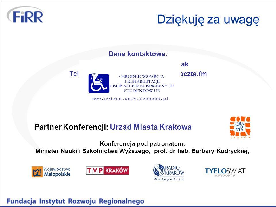 Małgorzata Zaborniak-Sobczak Tel. 728 991 512, mail: gosiazs@poczta.fm