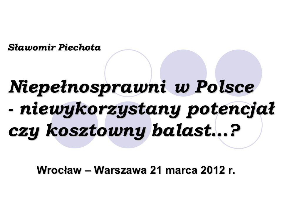 Wrocław – Warszawa 21 marca 2012 r.