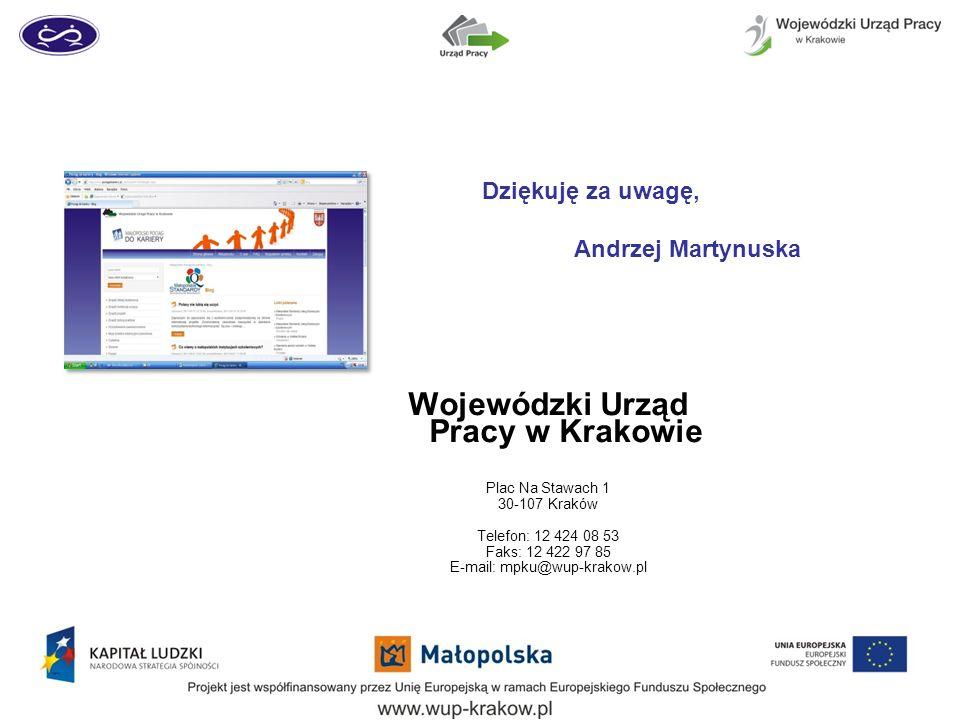 Wojewódzki Urząd Pracy w Krakowie