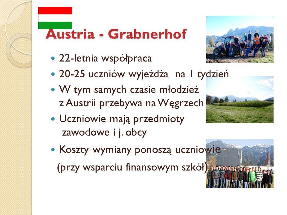 Austria - Grabnerhof 22-letnia współpraca
