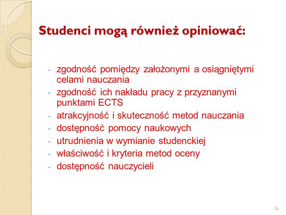 Studenci mogą również opiniować: