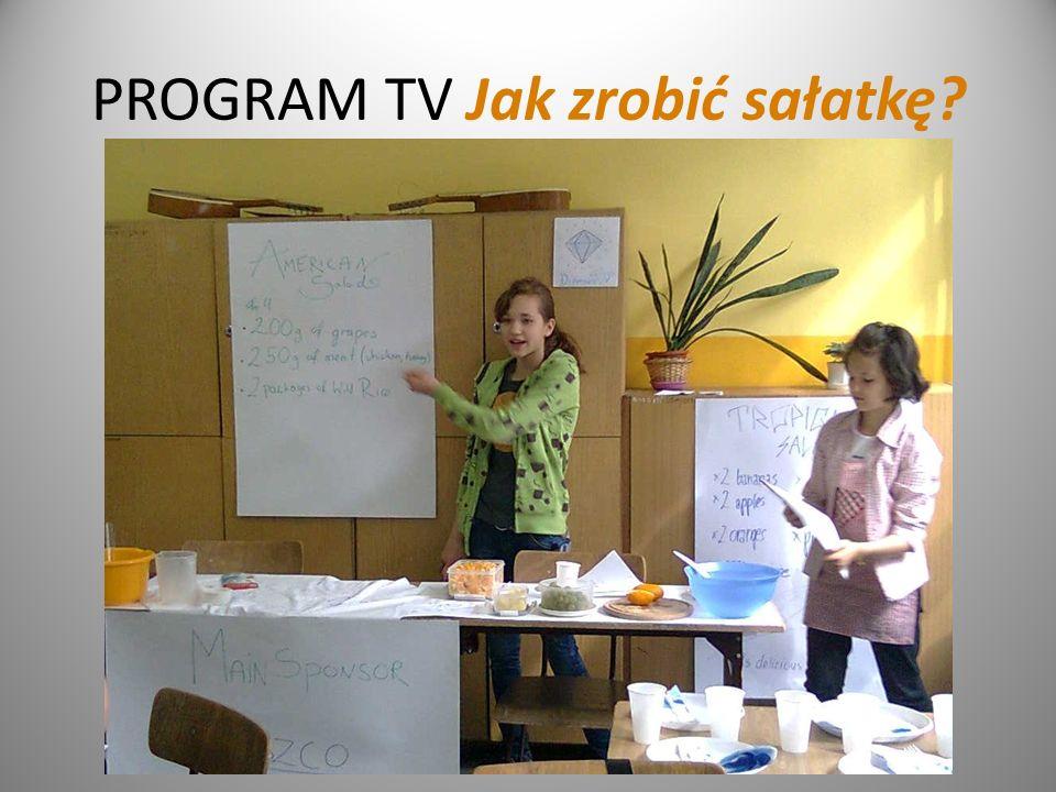 PROGRAM TV Jak zrobić sałatkę