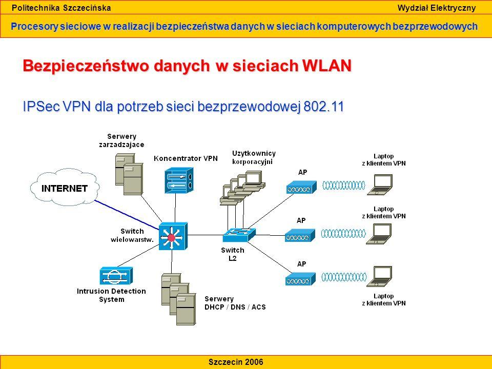 Bezpieczeństwo danych w sieciach WLAN