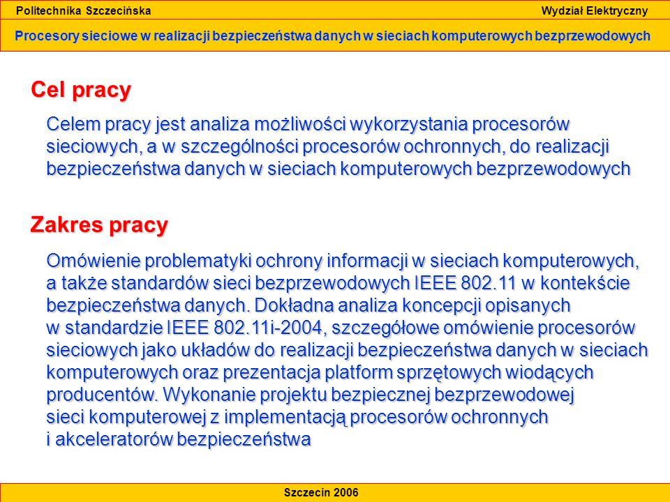 Politechnika Szczecińska Wydział Elektryczny
