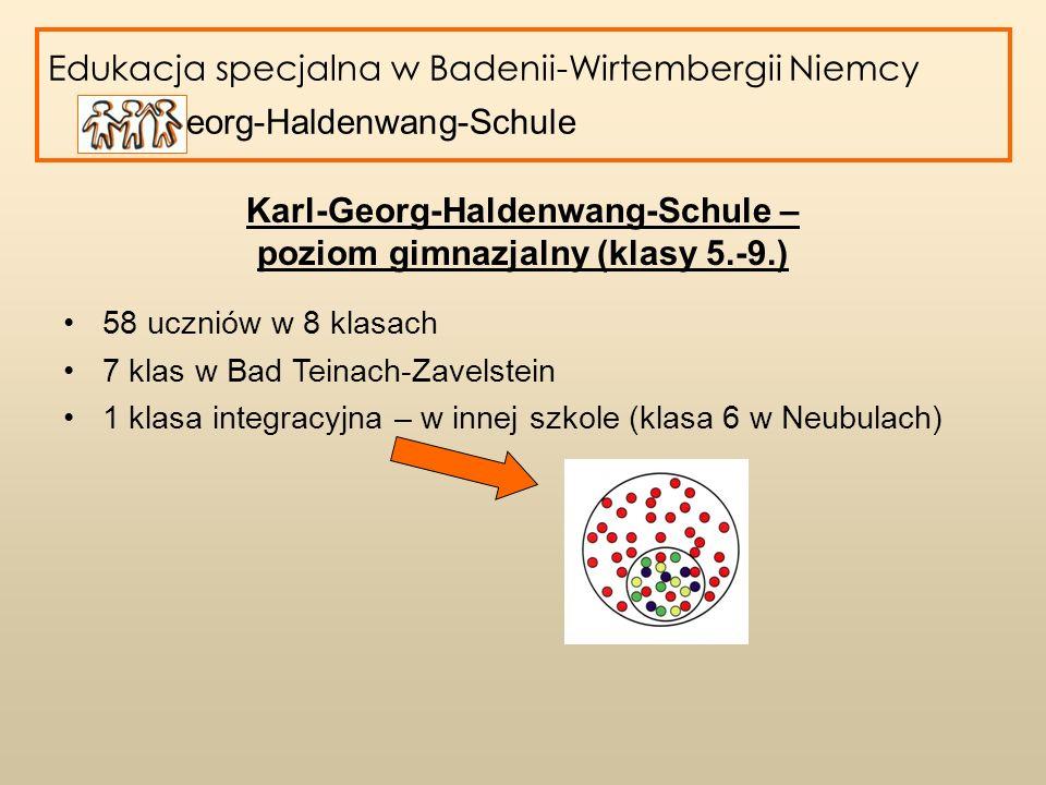 Karl-Georg-Haldenwang-Schule – poziom gimnazjalny (klasy 5.-9.)