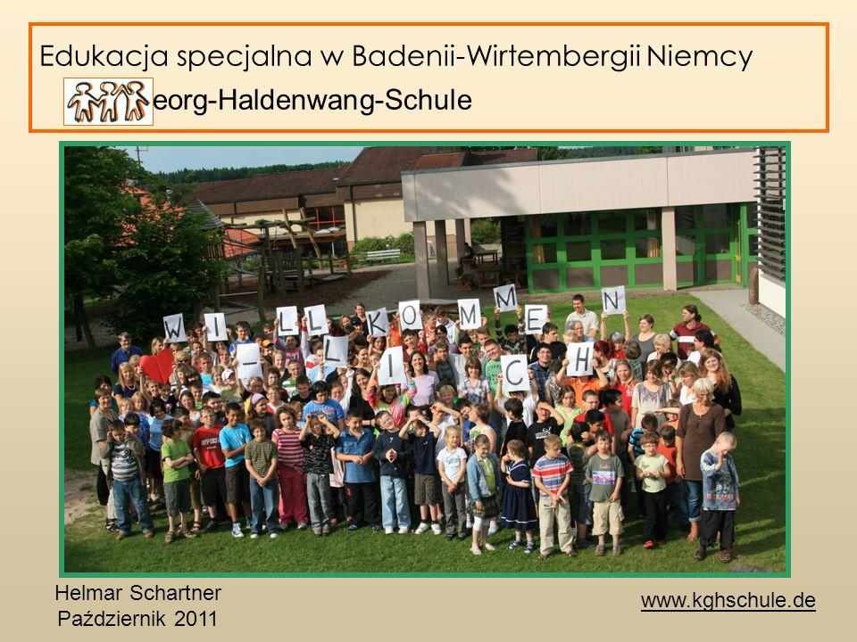 Edukacja specjalna w Badenii-Wirtembergii Niemcy