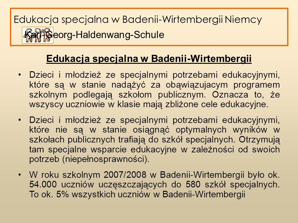 Edukacja specjalna w Badenii-Wirtembergii