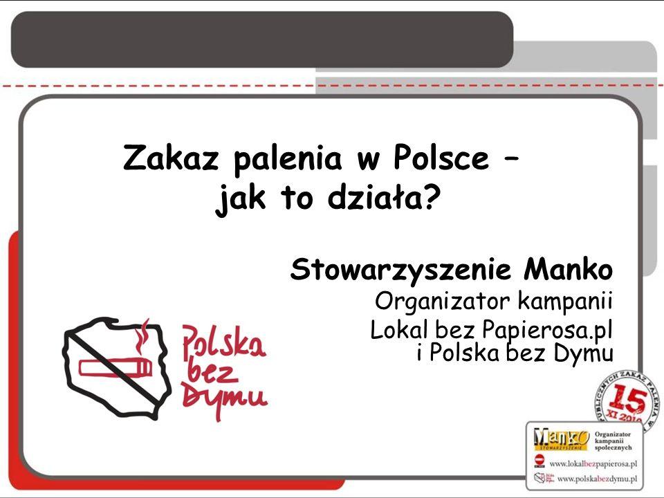Zakaz palenia w Polsce – jak to działa