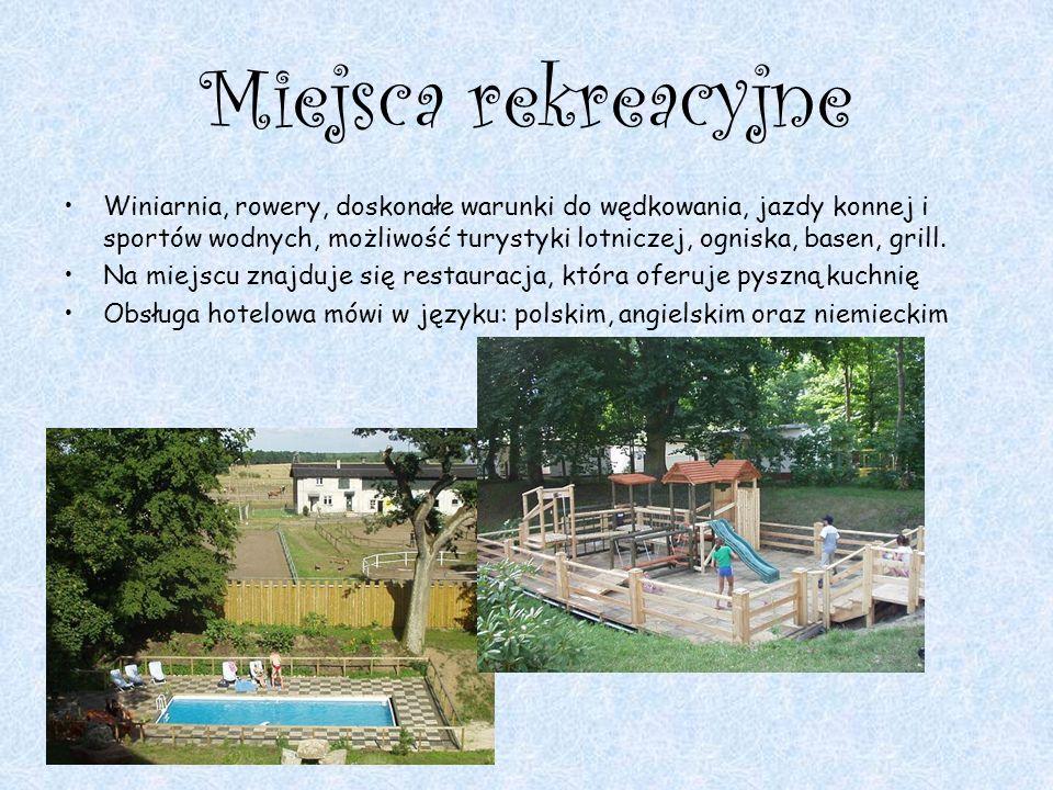 Miejsca rekreacyjne