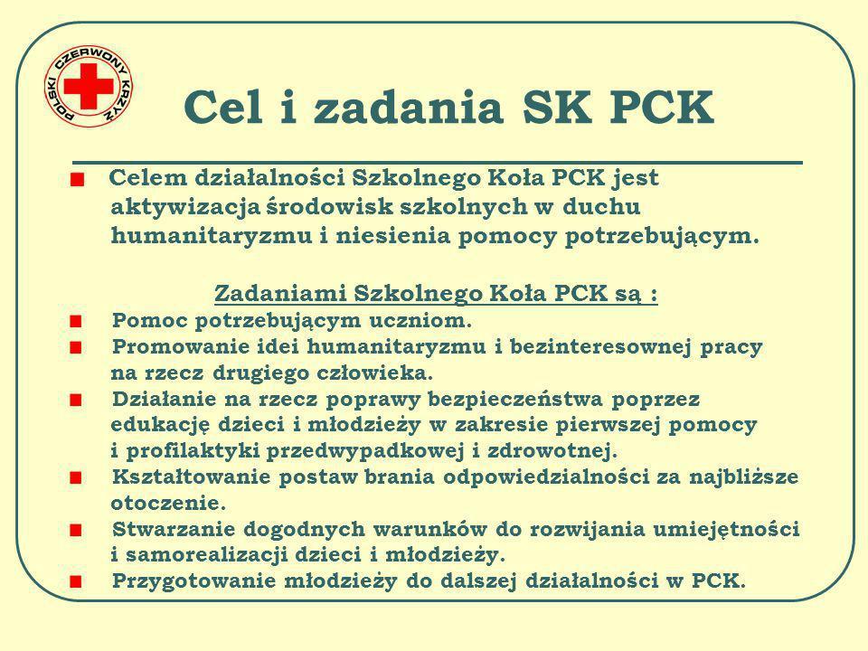 Cel i zadania SK PCK