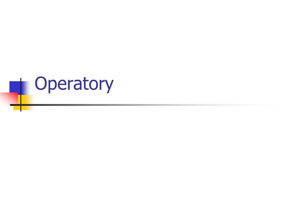 Operatory