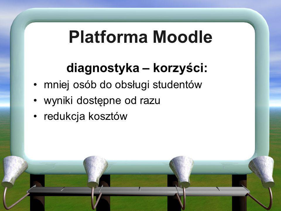 diagnostyka – korzyści: