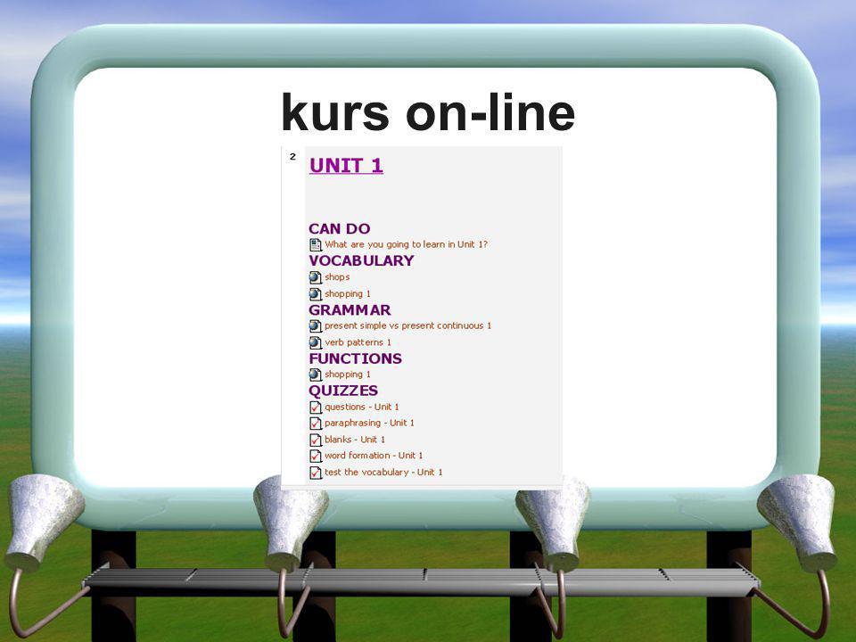 kurs on-line