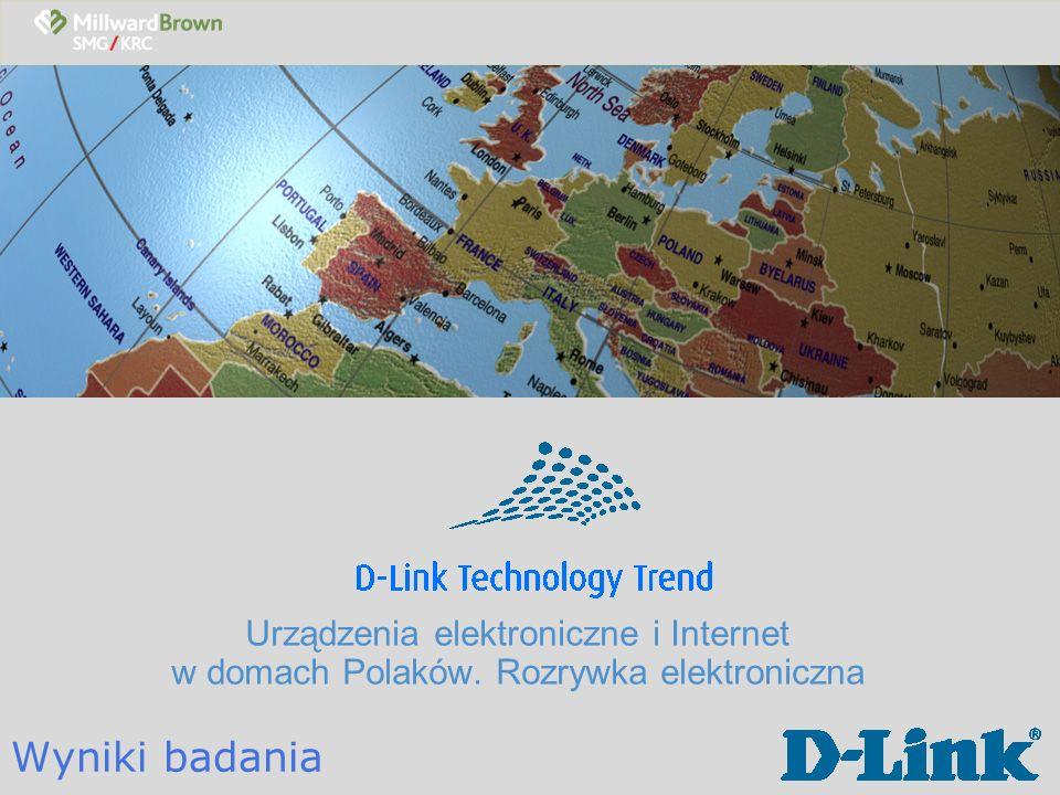 Urządzenia elektroniczne i Internet w domach Polaków