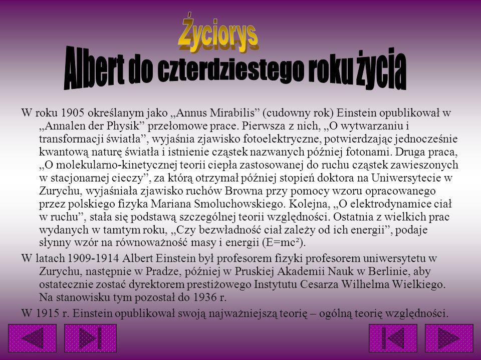 Albert do czterdziestego roku życia