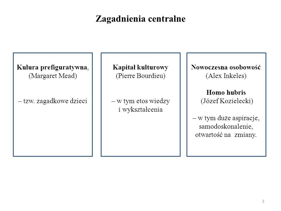 Zagadnienia centralne