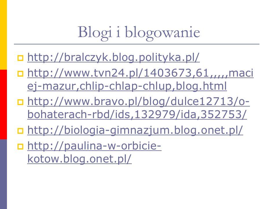 Blogi i blogowanie http://bralczyk.blog.polityka.pl/
