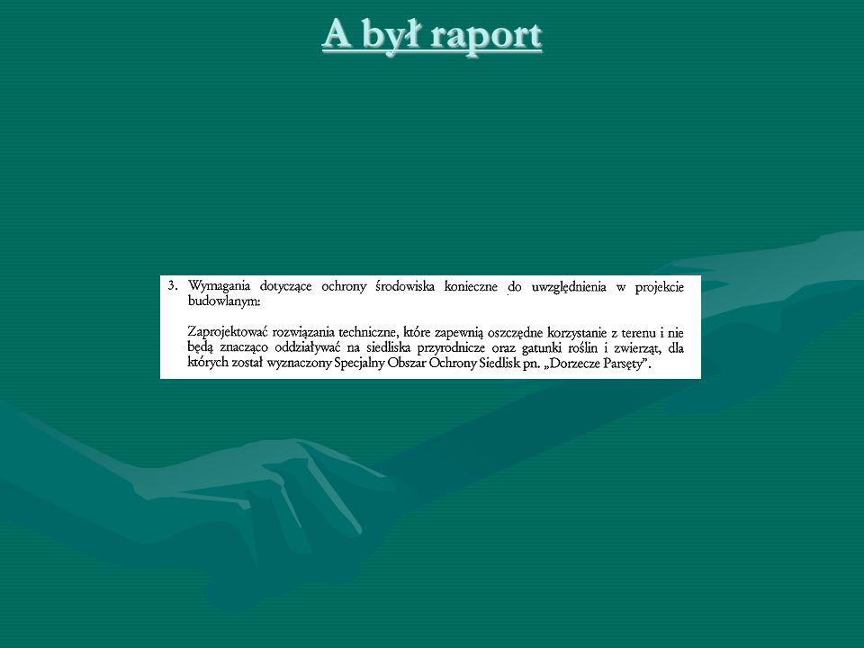 A był raport