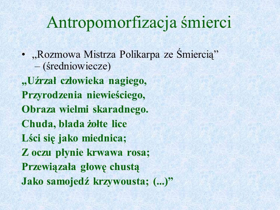 Antropomorfizacja śmierci
