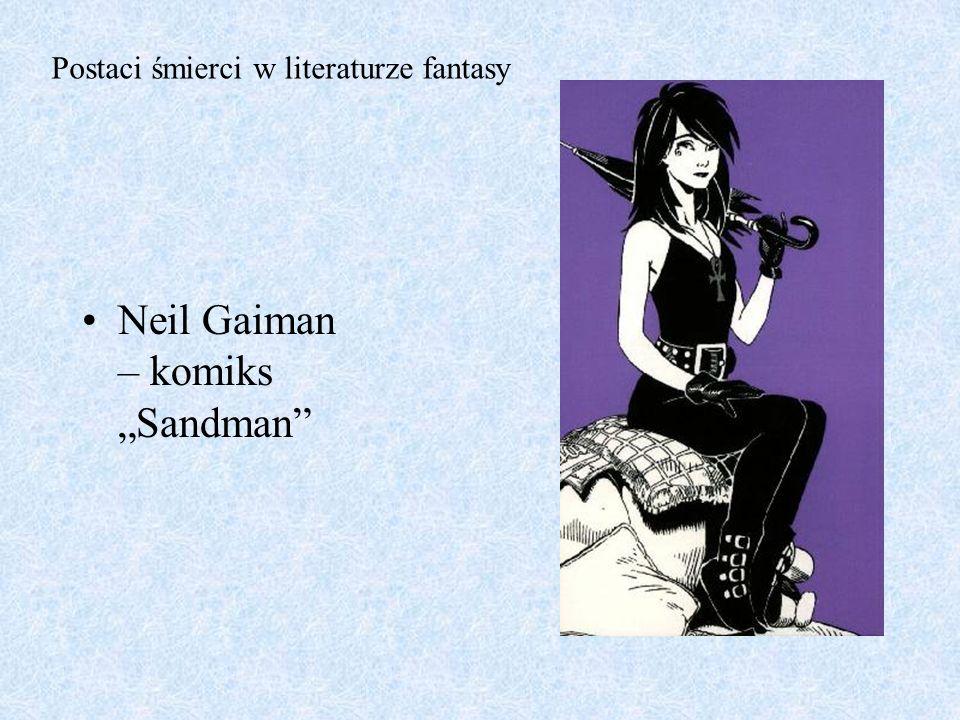 "Neil Gaiman – komiks ""Sandman"