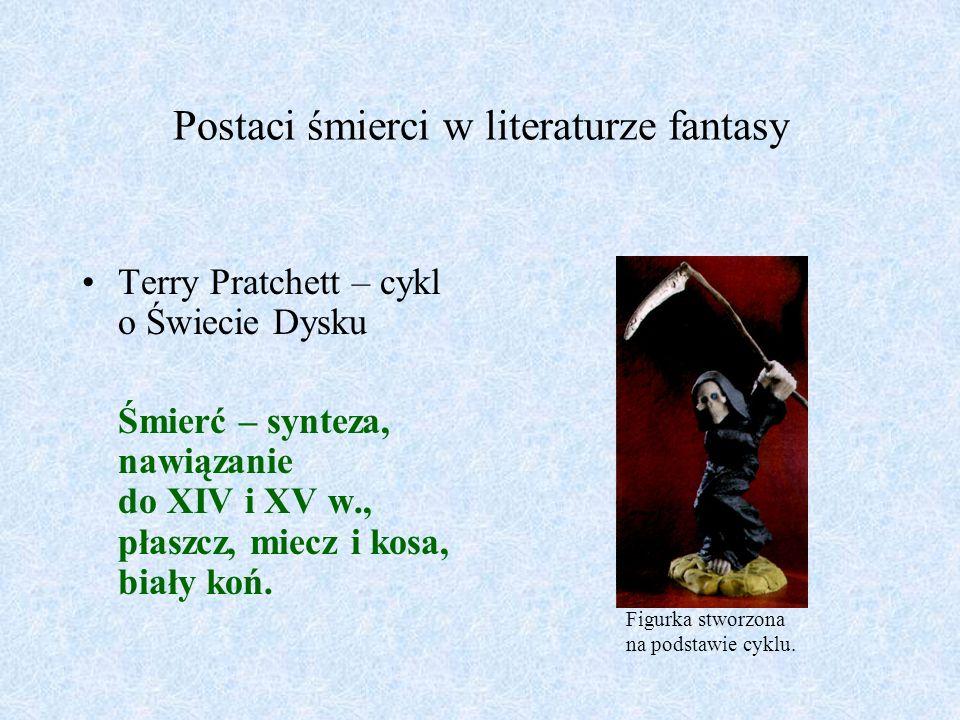 Postaci śmierci w literaturze fantasy