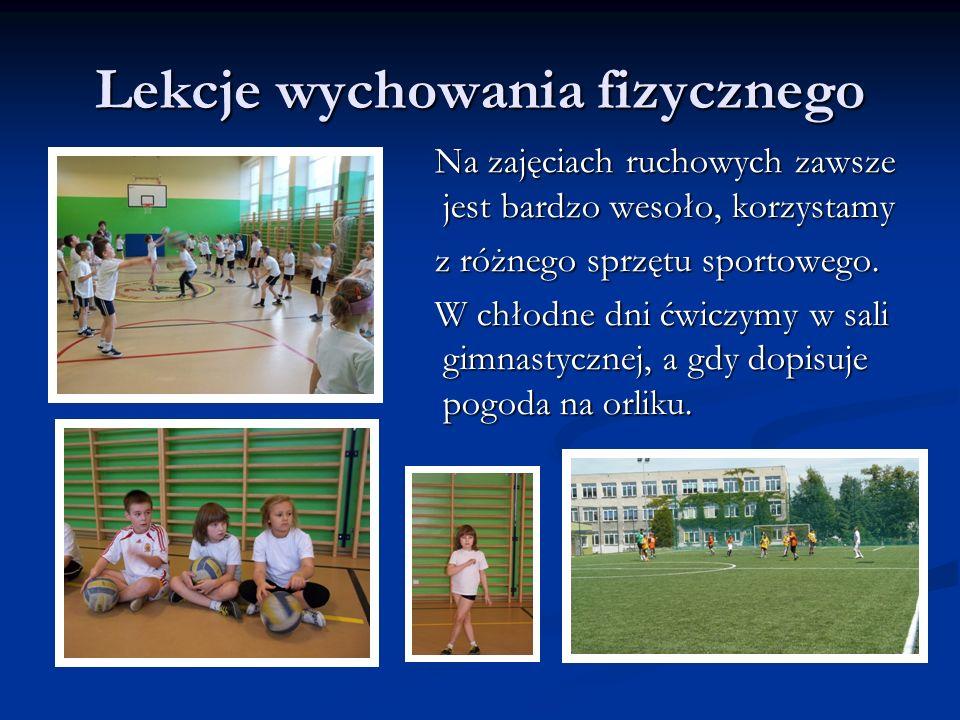 Lekcje wychowania fizycznego