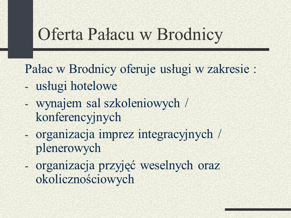 Oferta Pałacu w Brodnicy