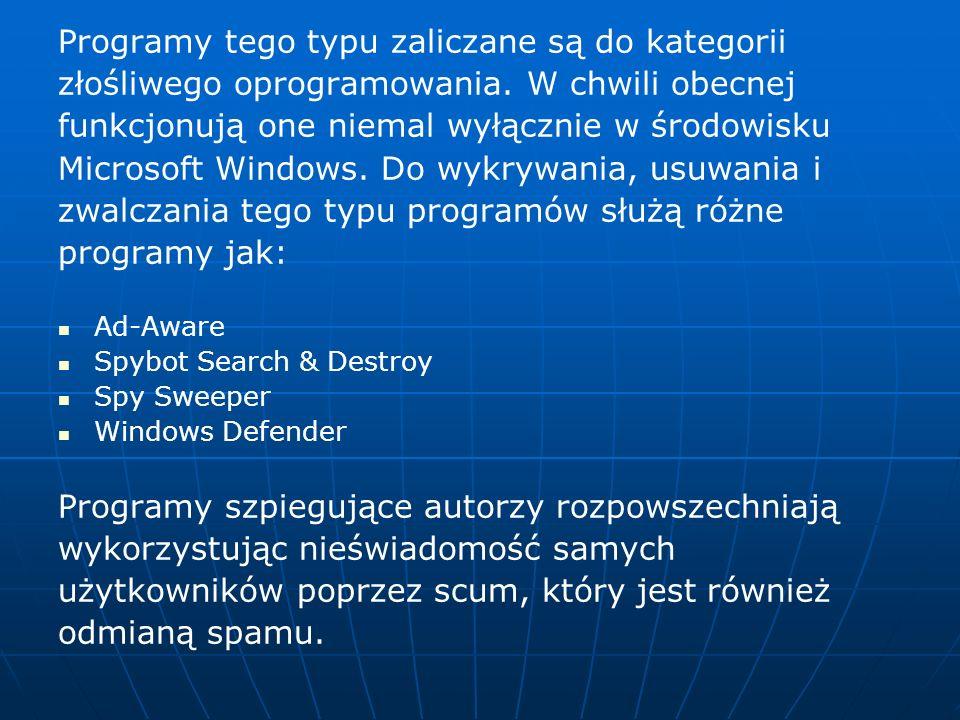 Programy tego typu zaliczane są do kategorii