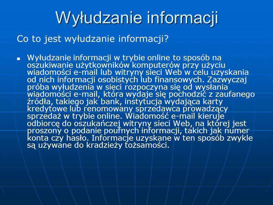 Wyłudzanie informacji
