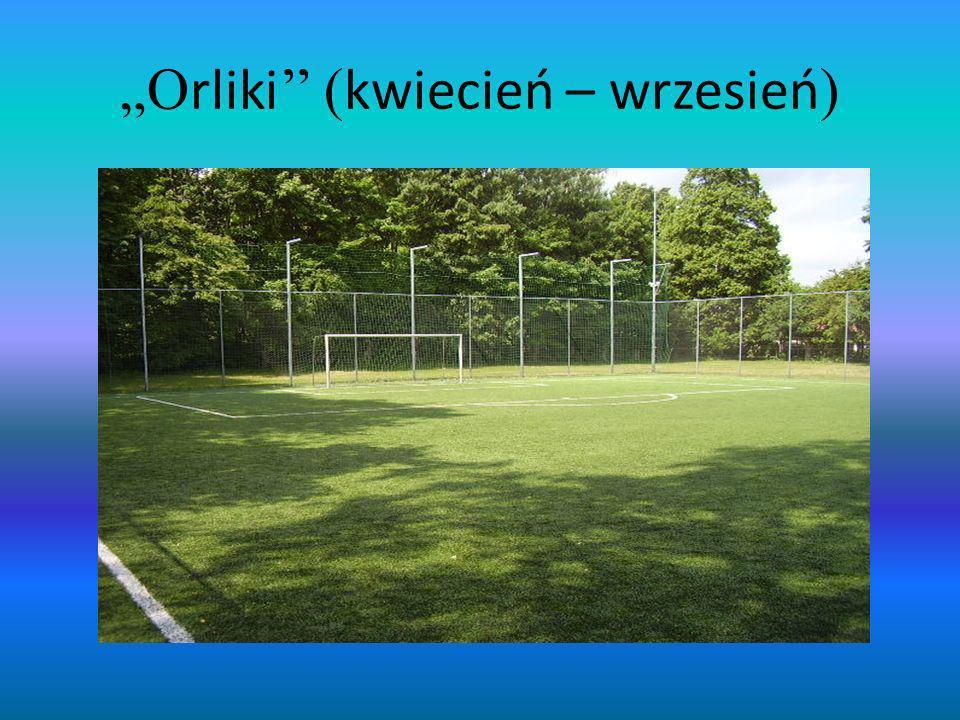 """""""Orliki'' (kwiecień – wrzesień)"""