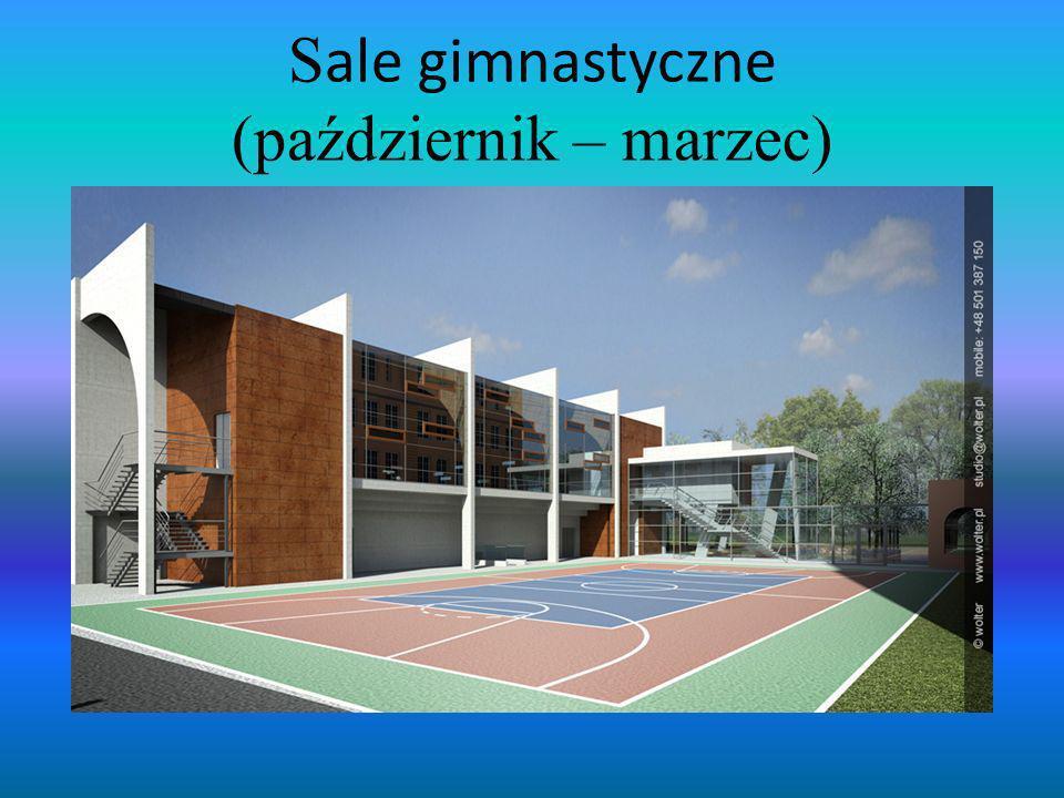 Sale gimnastyczne (październik – marzec)
